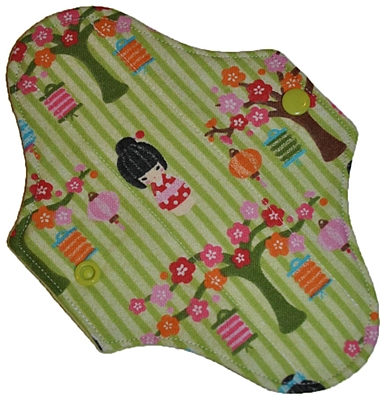 Reusable Cloth Mini Pads (7.5 in)