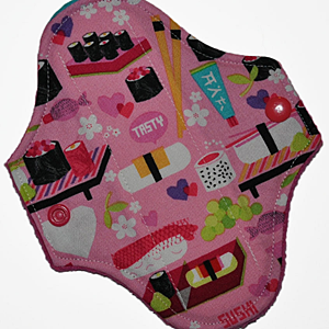 Reusable Cloth Petite Pads (6.5 in)